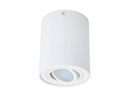 Oprawa halogenowa natynkowa LED GU10 spot OS100 BP Kolor bialy