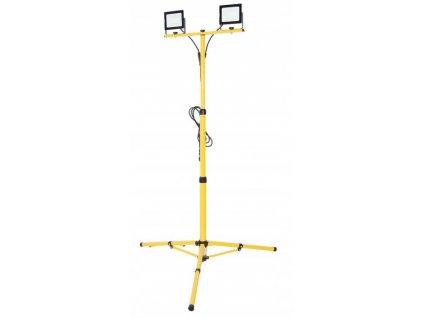 Naswietlacz halogen LED 2x 100W statyw zlacze 3m