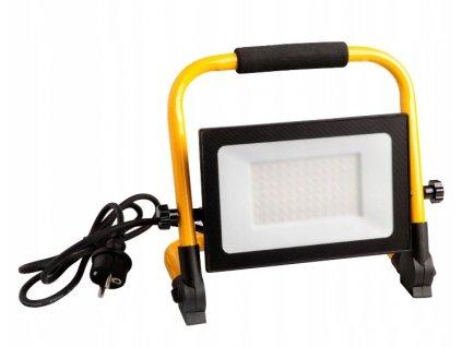 Naswietlacz halogen LED 100W z przewodem statyw