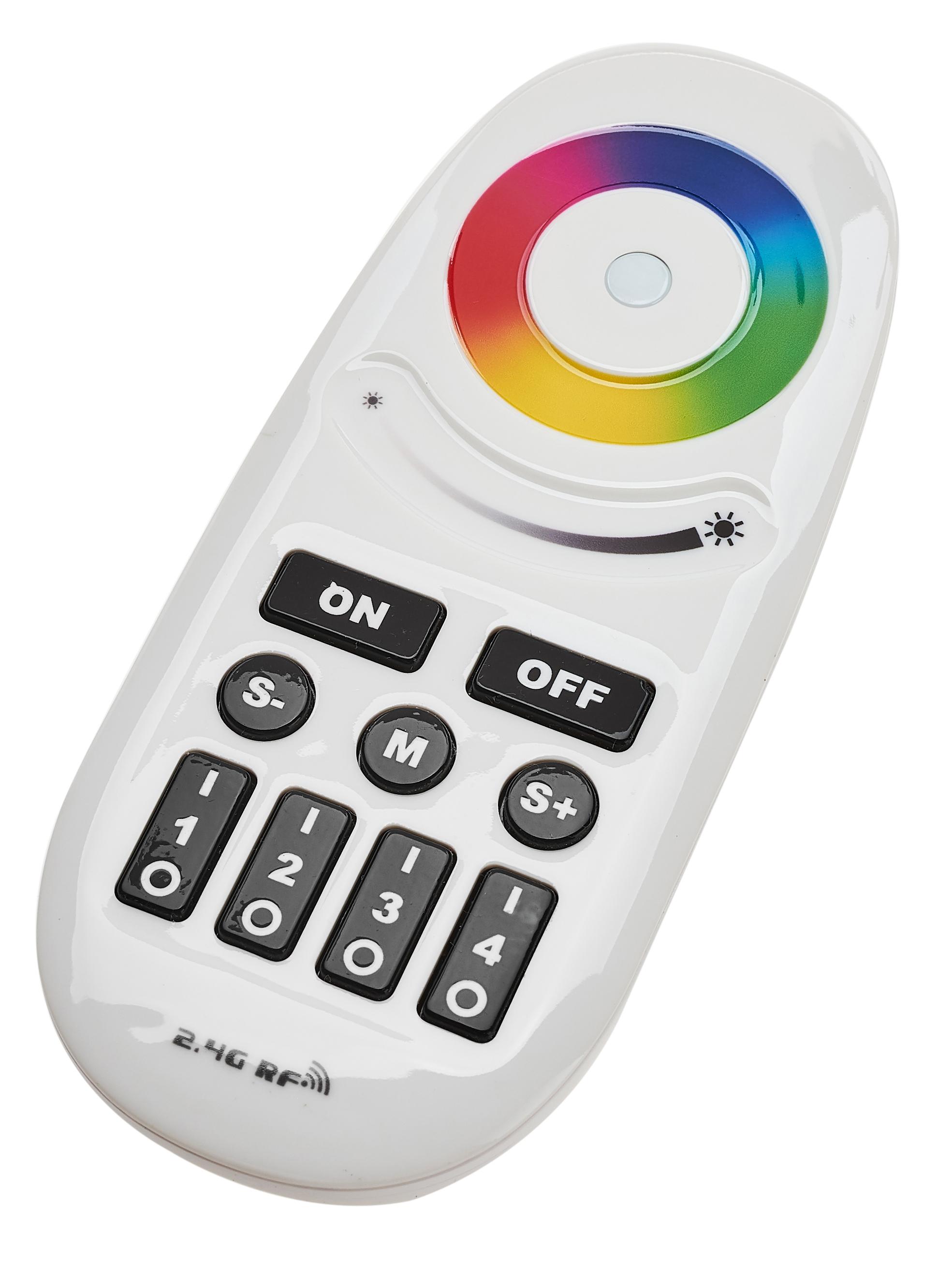 BERGE Dálkový ovladač pro RGB LED pásky 4 zóny