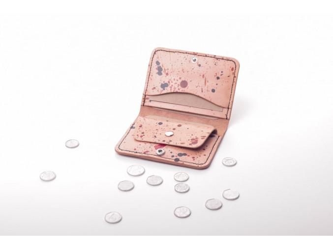 pravá kůže dámská peněženka