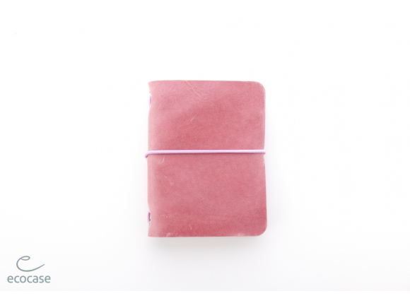 dámský kožený zápisník Ecocase