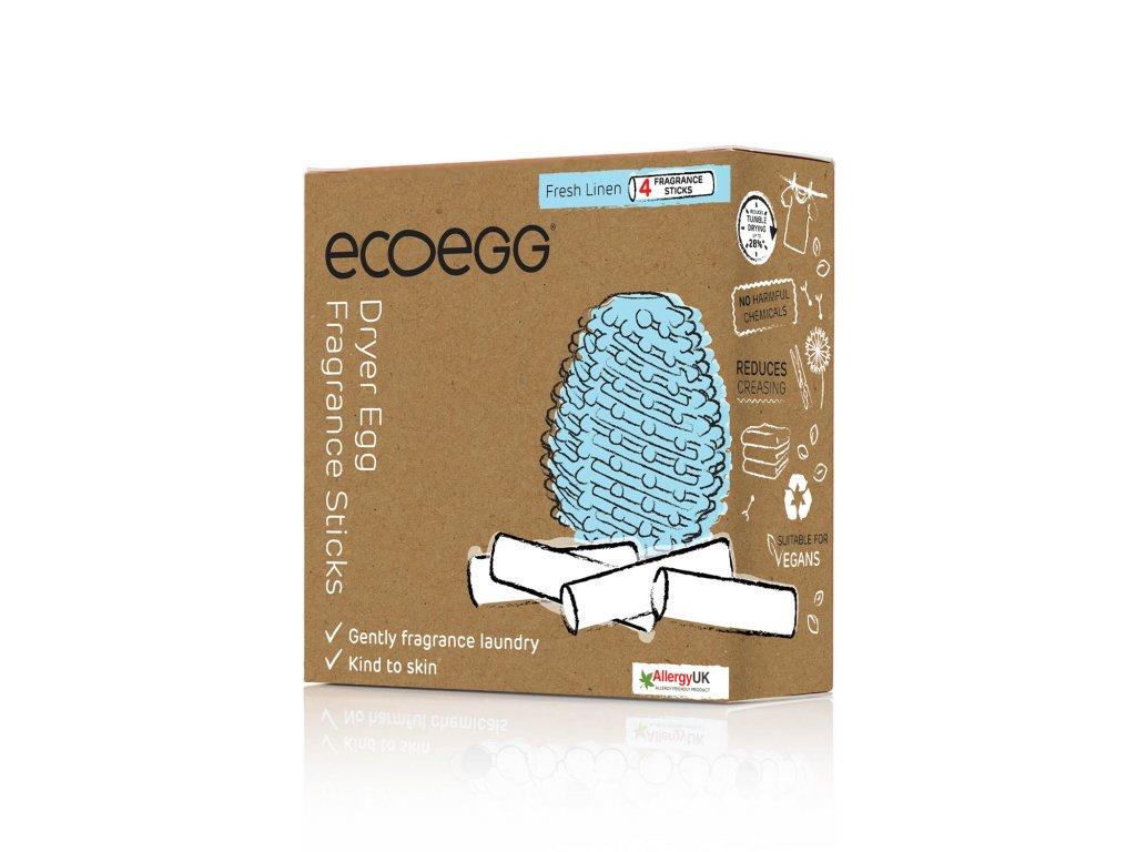 Náhradní tyčinky do sušicího vajíčka Ecoegg, 4 ks v balení - bavlna