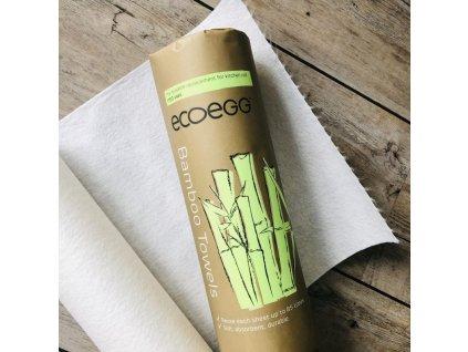 Ecoegg bambusové utěrky 20 ks až na 1700 použití