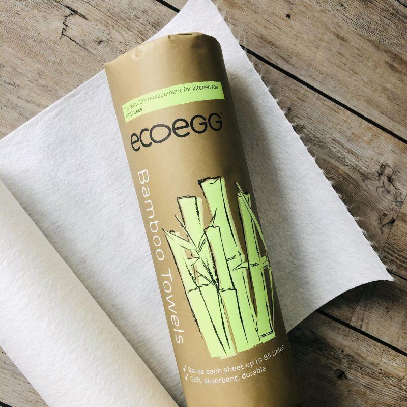 Levně Ecoegg bambusové utěrky 20 ks až na 1700 použití