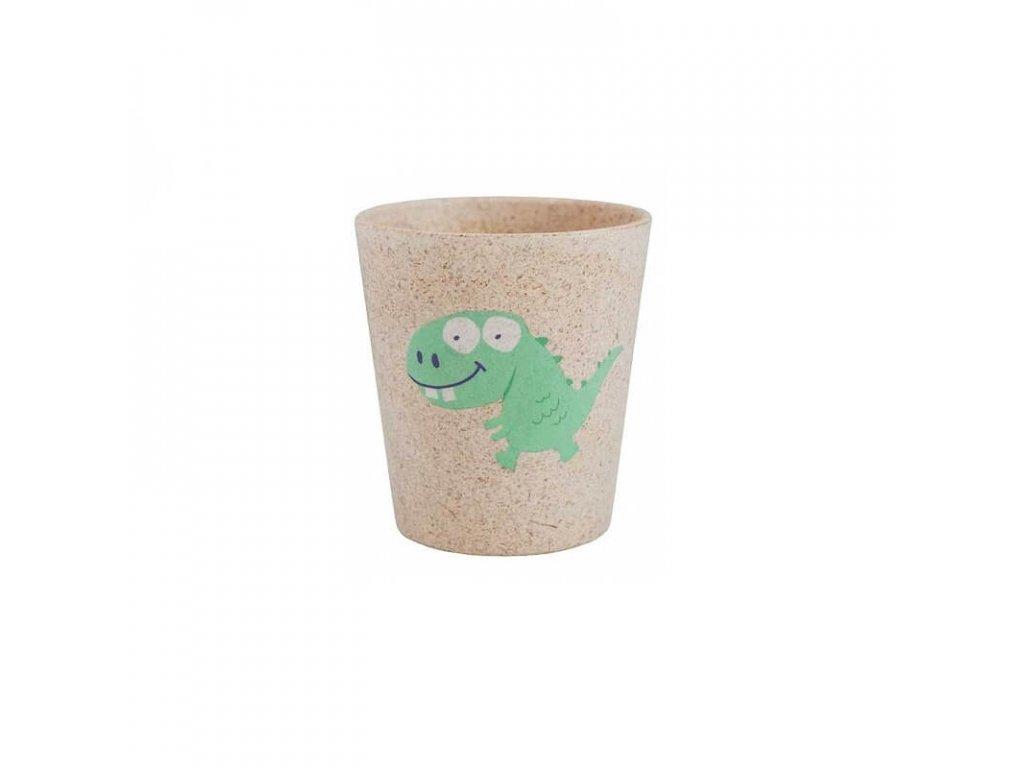 Jack N' Jill Eko-pohárik na zubné kefky - Dino
