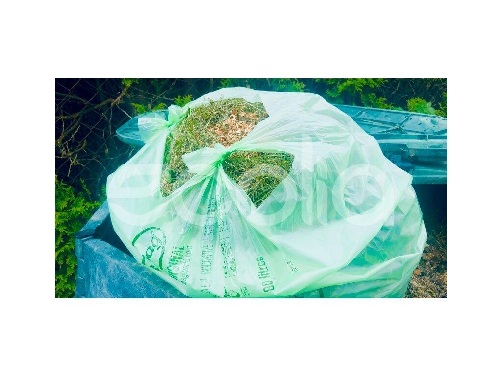 Kompostovateľné vrecia: 80 litrov