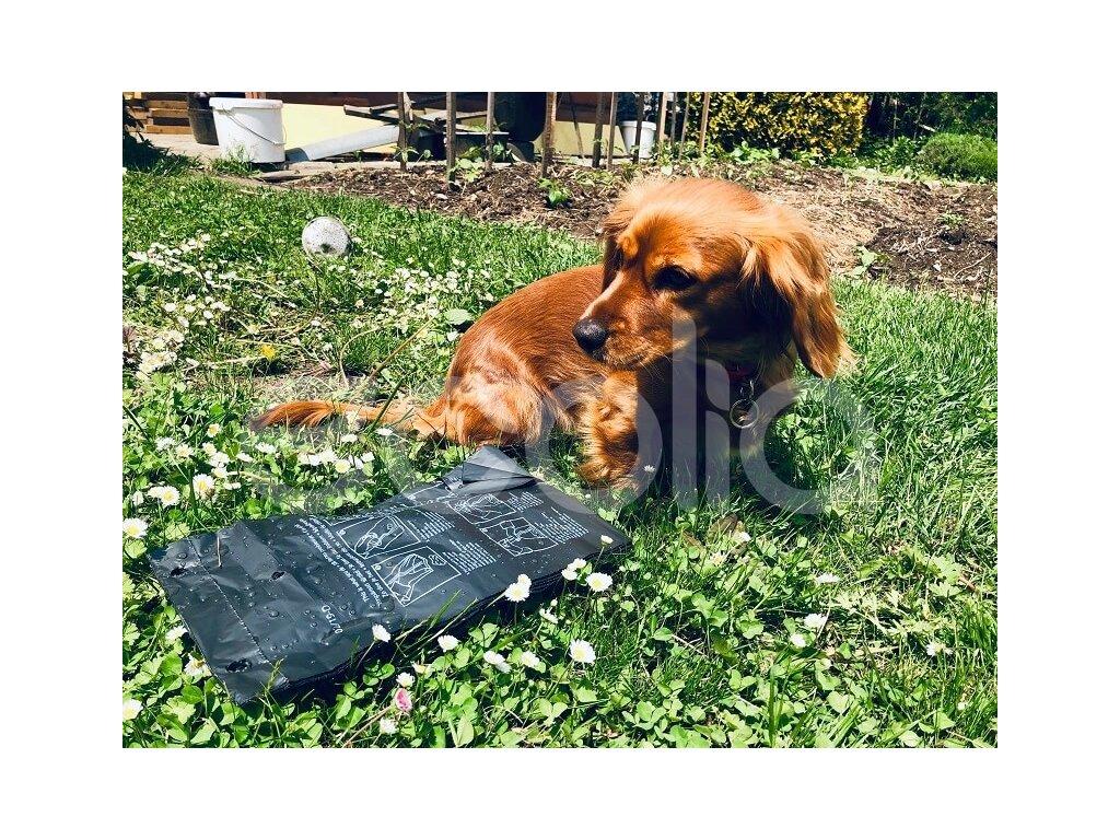Kompostovateľné sáčky na psie exkrementy (150 ks)