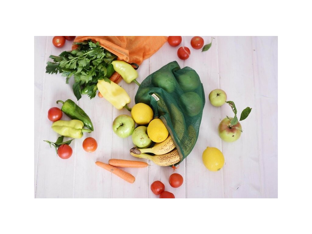Vrecká na ovocie a zeleninu TUTO - farebné