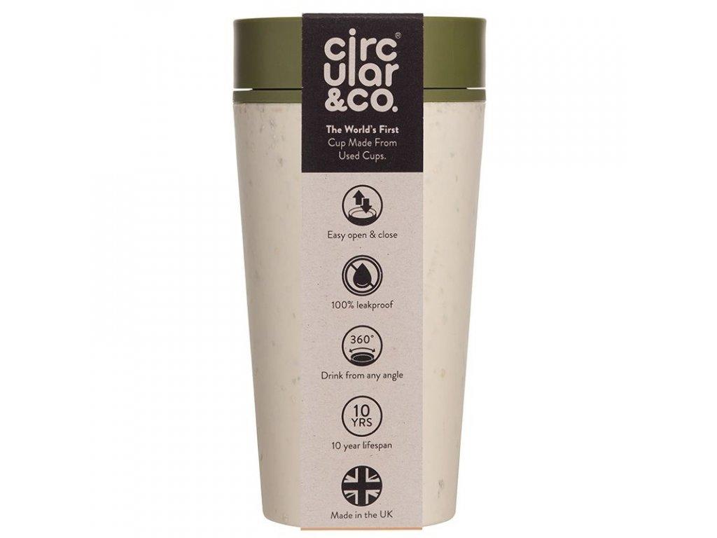 rCUP kelímok krémovo zelený - 340 ml
