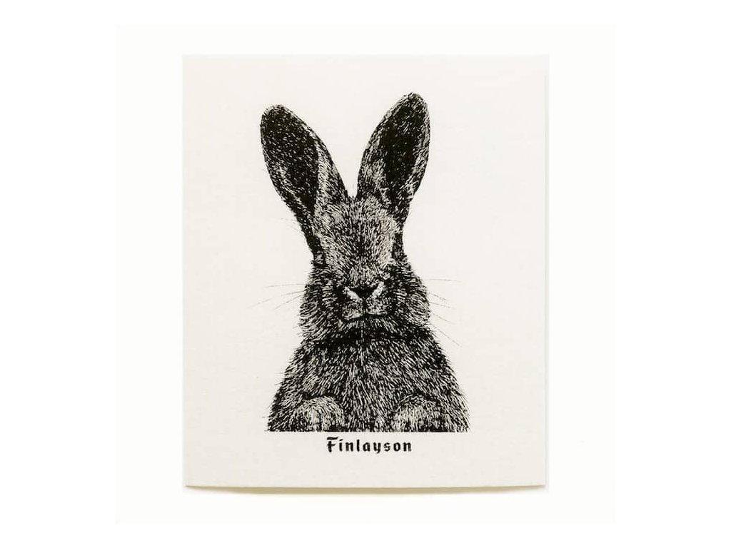 Prateľná hubková handrička More Joy - Zajac