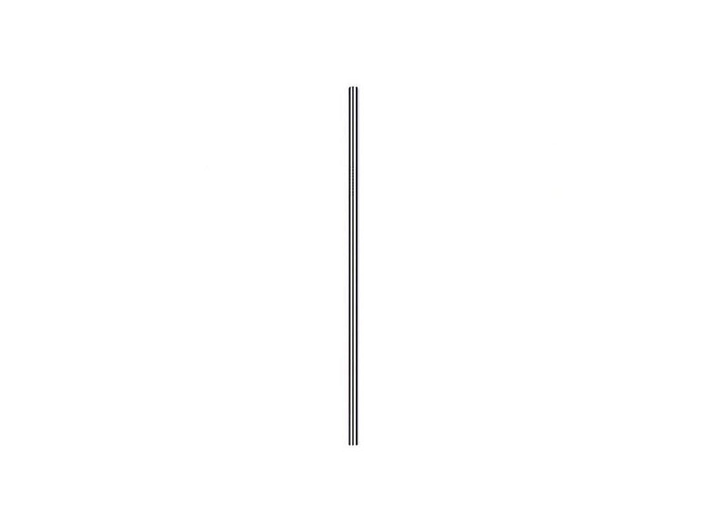 Nerezová slamka rovná (bez obalu)