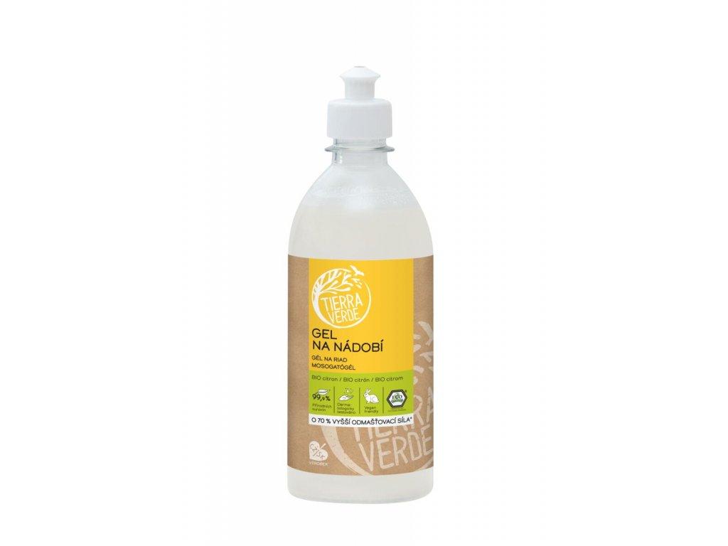 Gél na umývanie riadu z mydlových orechov 750 ml