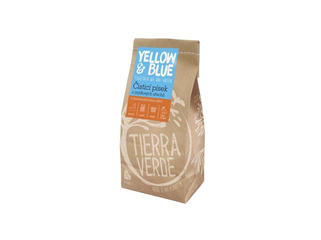 Čistiaci piesok z mydlových orechov 1 kg (papierové vrecko)