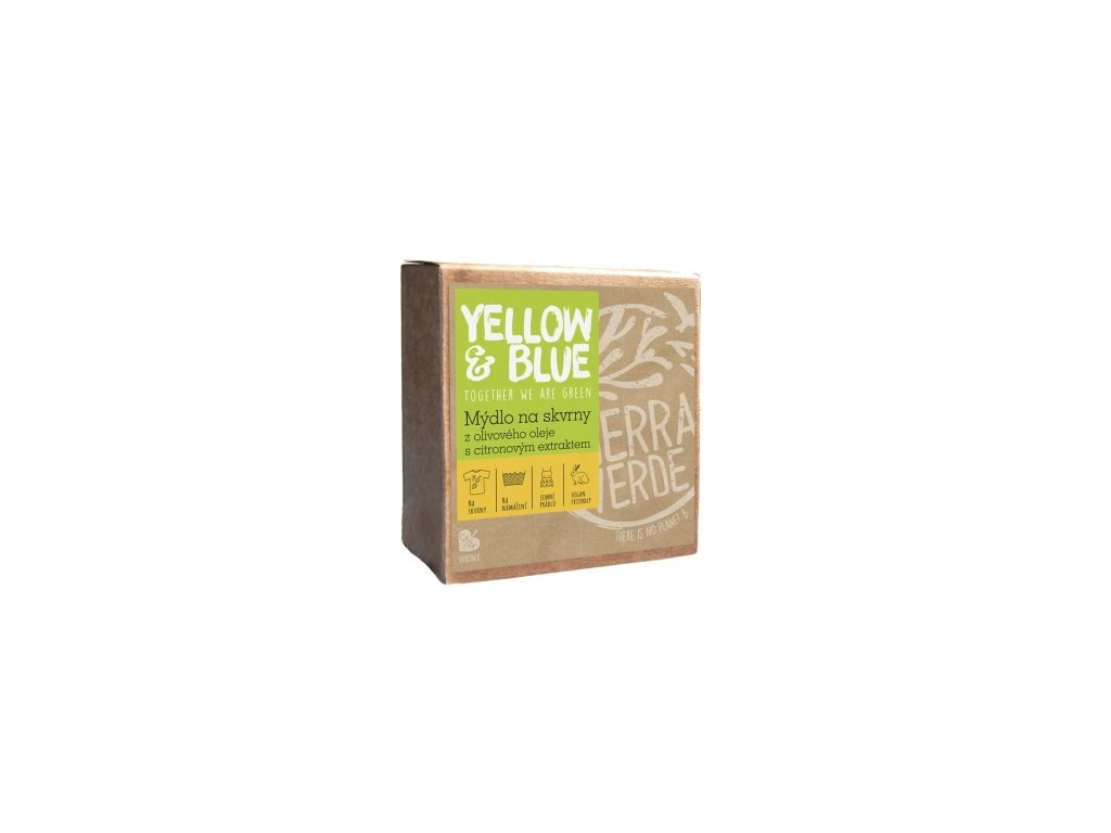 Olivové mydlo na škvrny s citrónovým extraktom 200 g