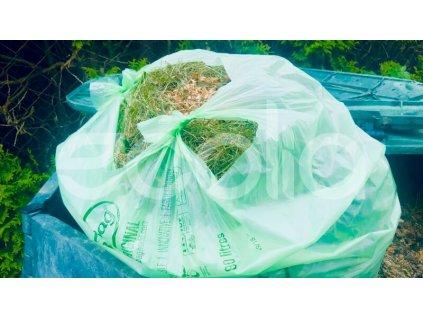 Kompostovateľné vrecia BioBag na bioodpad 80 l, 20 ks
