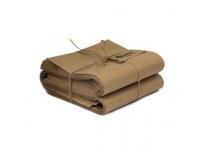 kompostovatelne papierove vrecka na bioodpad 9l