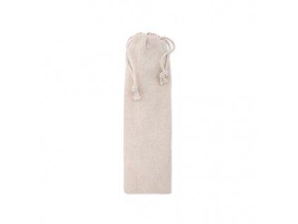 bavlnene vrecko na slamky