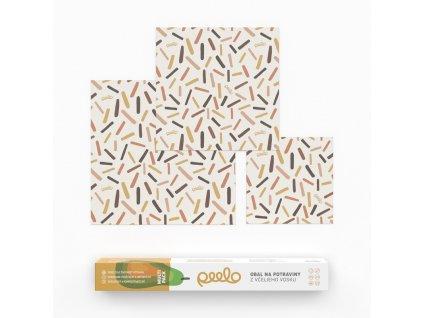 Peelo multi pack vceli obal voskovy abstract