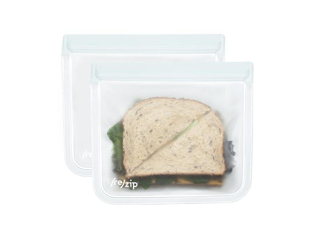 (re)zip Lunch placatý - 2ks (Barva oranžová)