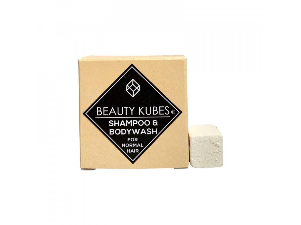 Beauty Kubes - šampon na tělo a vlasy unisex 100g