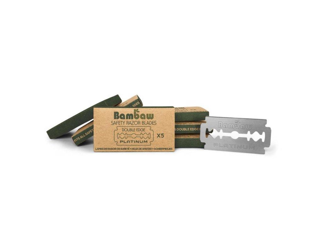 1965 bambaw nahradni ziletky 5 ks 1 ks