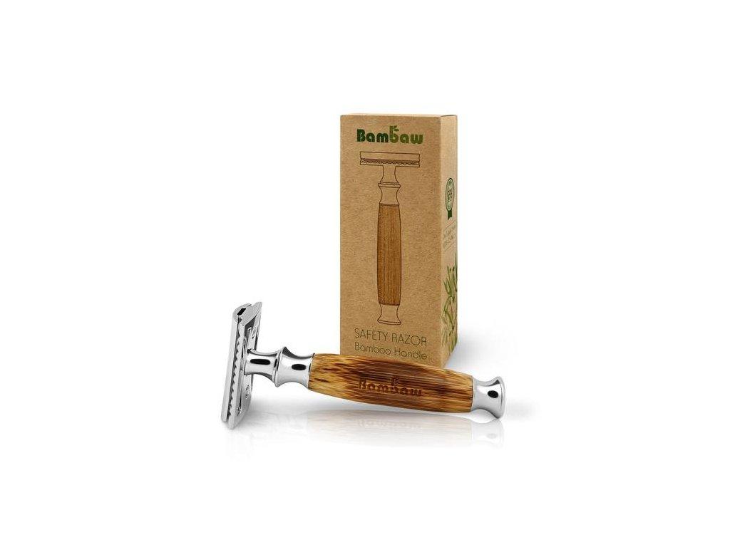 BamBaw Bambusový holící strojek (Barva bambus)