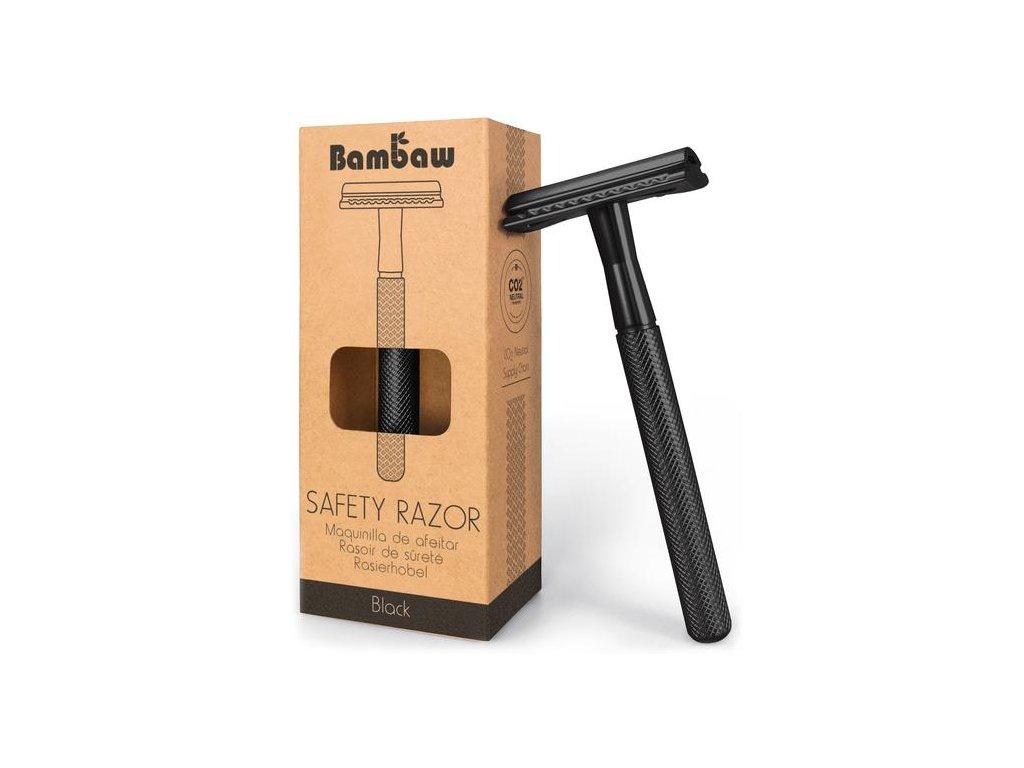 BamBaw Metalický holící strojek (Barva černá)