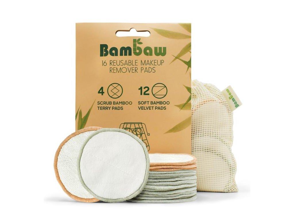 2082 bambaw bambusove odlicovaci tamponky 16 ks