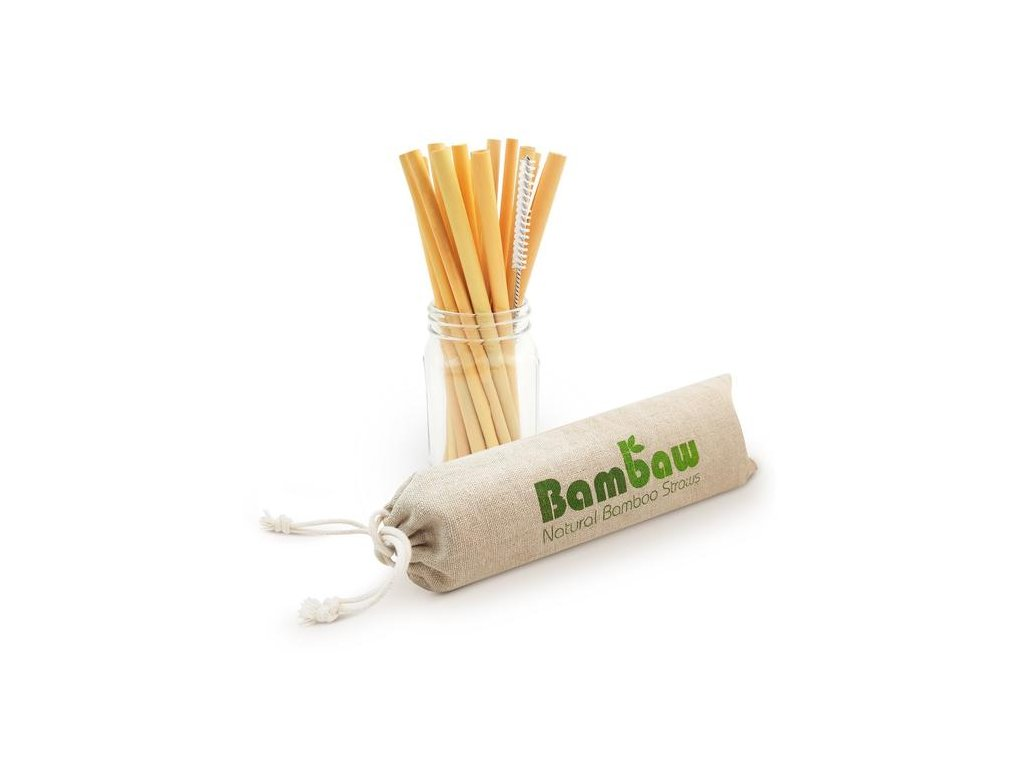 2106 pouch bamboo straws 22 cm 12 pack