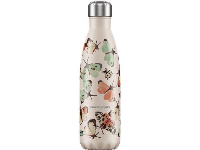 Nerezová fľaška Chilly's - Emma Bridgewater - Butterflies