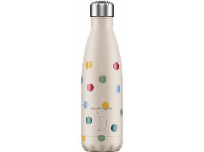 Nerezová fľaška Chilly's Emma Bridgewater Polka