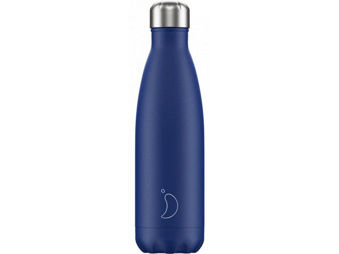 Nerezová fľaška Chilly's Matte Blue