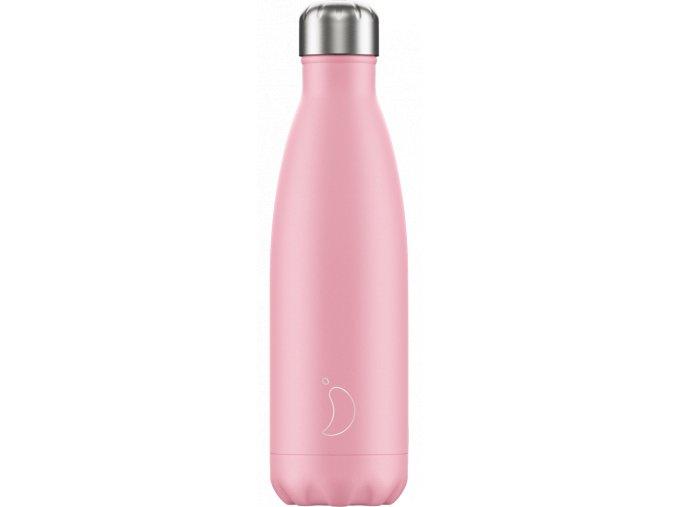 Nerezová fľaška Chilly's Pastel Pink