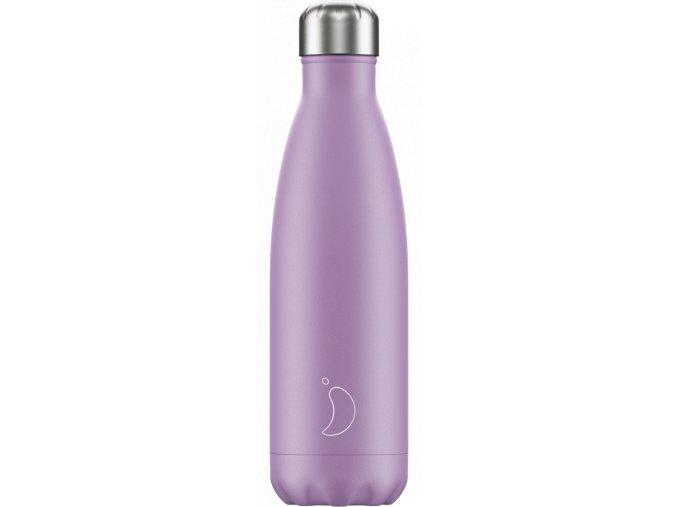 Nerezová fľaška Chilly's Pastel Purple