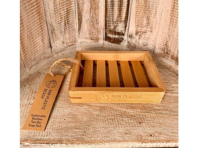Bambusová kúpelňová miska - obdĺžniková