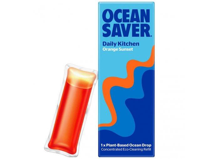 Čistiaca kapsula OceanSaver - Kuchyňa - Orange Sunset