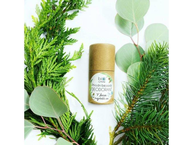BEZSODÝ prírodný deodorant - V lese nájde (š) sa