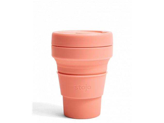 Skladací pohár Stojo - Kolekcia Spring - Apricot