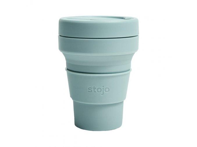 Skladací pohár Stojo - Kolekcia Spring - Aquamarine
