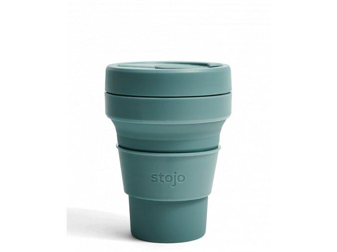 Skladací pohár Stojo - Kolekcia Spring - Eucalyptus