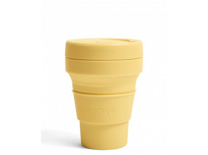 Skladací pohár Stojo - Kolekcia Spring - Mimosa