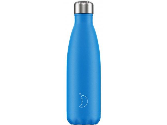 Nerezová fľaška Chilly's - Neon - Blue