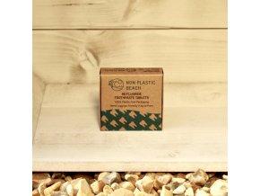Prírodná zubná pasta v tabletách s fluoridom