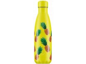 Nerezová fľaška Chilly's Icons Pineapple