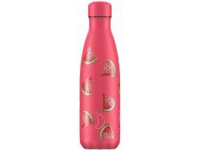 Nerezová fľaška Chilly's Icons Watermelon
