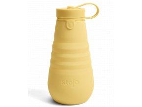 Skladacia fľaša Stojo - Kolekcia Spring - Mimosa