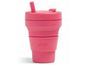Skladací pohár Stojo - Biggie -  Kolekcia Soho - Peony
