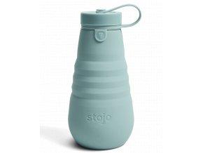 Skladacia fľaša Stojo - Kolekcia Spring - Aquamarine