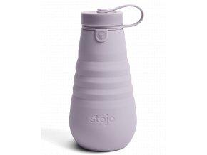 Skladacia fľaša Stojo - Kolekcia Spring - Lilac